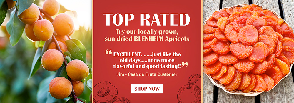 Our top rated blenheim apricots are a crowd favorite. Order yours today